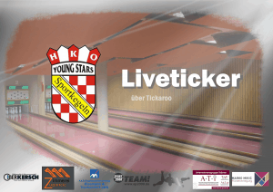 HKO-Sportkegel-Liveticker